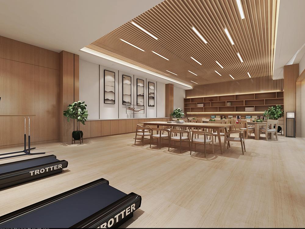 养老院室内装修设计_医疗养老院装修设计案例-杭州众策装饰装修公司