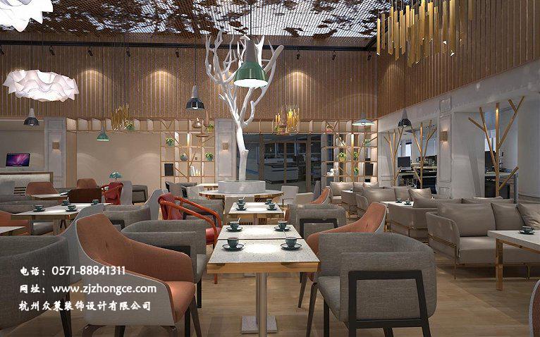 杭州咖啡店装修